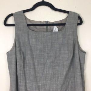 MaxMara Dresses - MaxMara Grey Tank Midi Dress